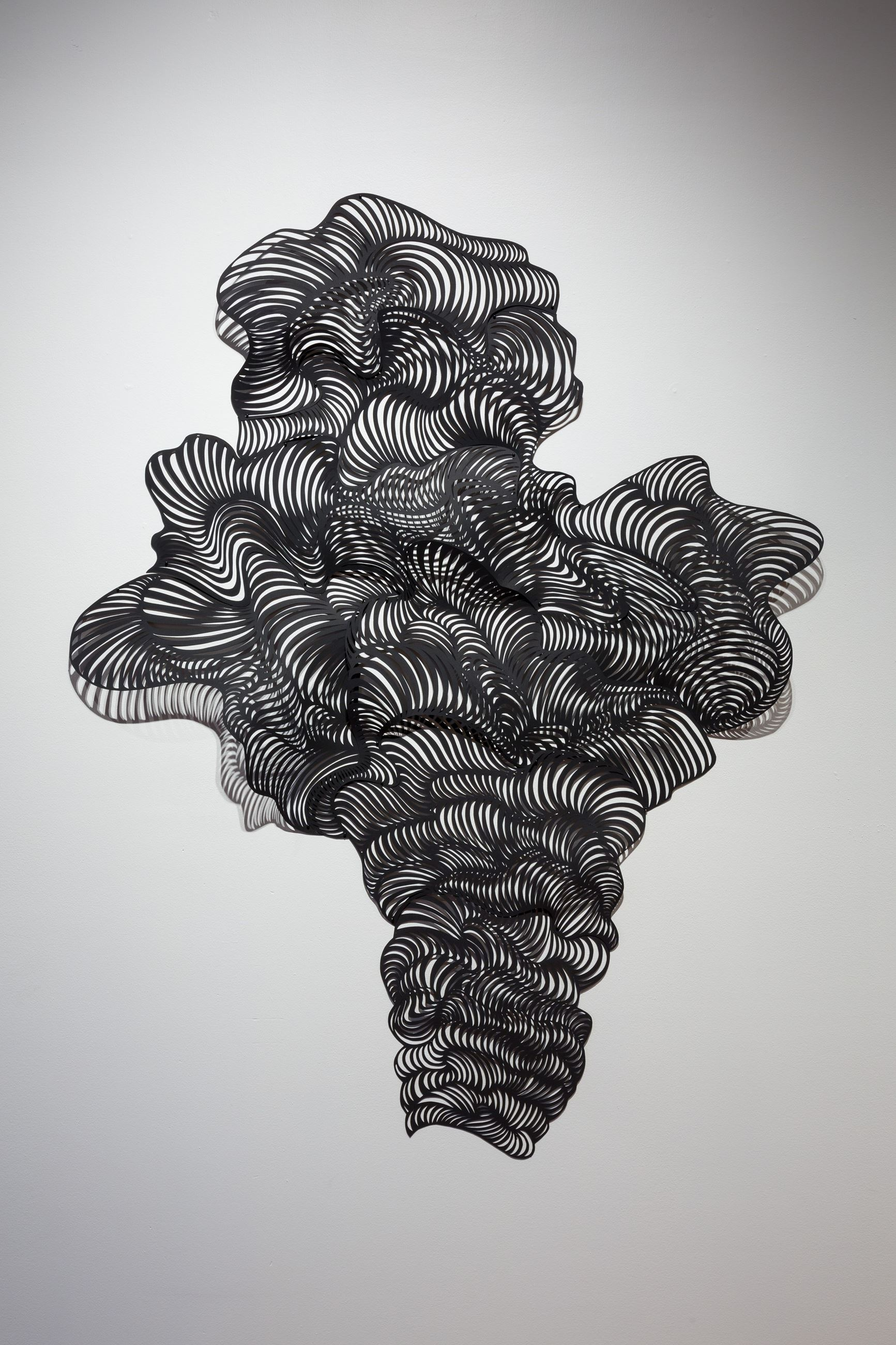 hand cut paper abstract paper artworks