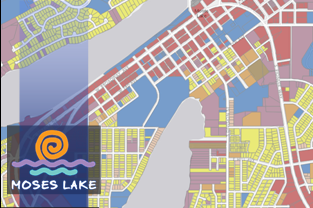 Moses Lake Map