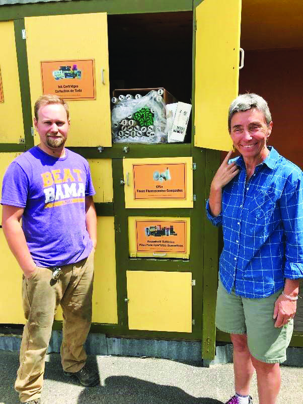 Staff of Methow Recycles